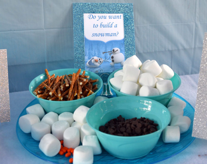 Do You Want To Build A Snowman? Snack Set