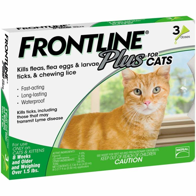 Top 10 Best Flea Control Products For Cats Reviewed In 2019