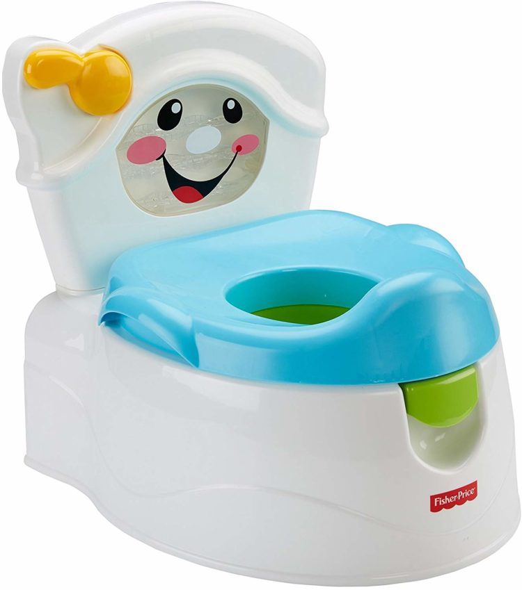 28762863463 Fisher-Price Learn-to-Flush Potty. This adorable potty training chair comes  in ...